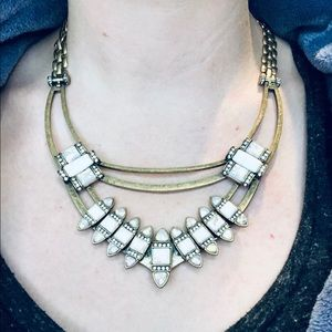 Chloe + Isabel Lunette Statement Necklace Tribal
